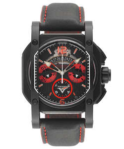 "≪VISCONTI≫ 25th Anniversary PVD Stainless Steel Chronograph ""Monza"" 【W105-00-146-0017】"